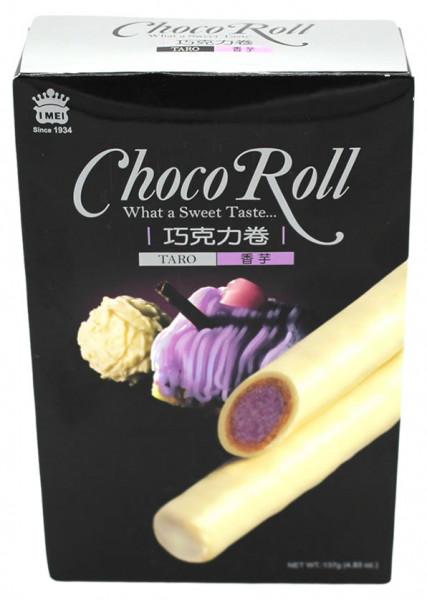 Schokoladenrolle mit Taro Geschmack, 137 g