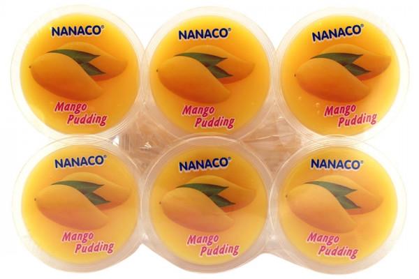 NANACO Nata Decoco Pudding Mango , 480 g