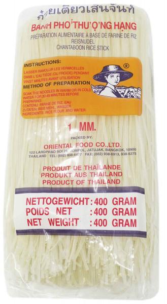 FARMER Reisnudeln, Ø 1mm, 400 g