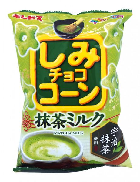 Shimi Choco Corn Matcha Milk Bonbons, 55 g