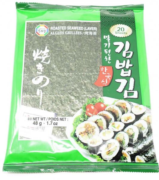 Surasang geröstete Algen für Sushi, 48 g