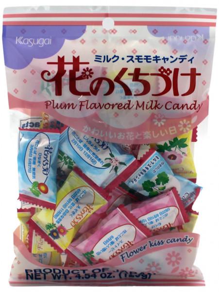 Kasugai Milchbonbon mit Pflaumengeschmack, 129 g