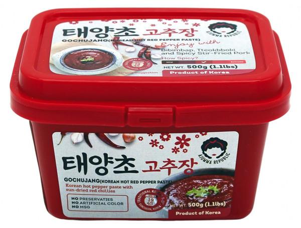 Scharfe rote Paprikapaste, 500 g