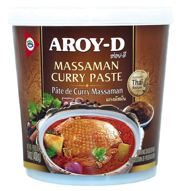 AROY-D Massaman Curry Paste, 400 g
