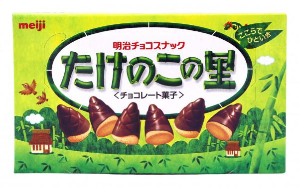 Meiji Takenoko Schokokekse, 70 g