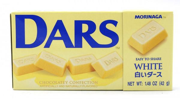 Morinaga Dars weiße Schokolade, 12 Stück