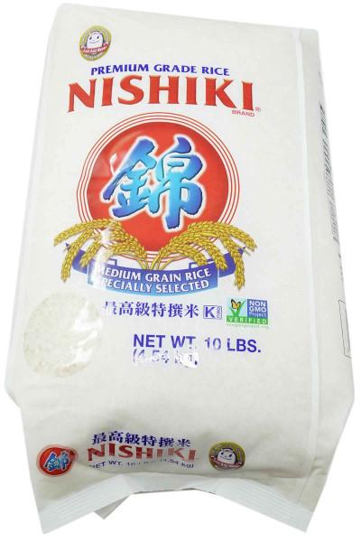 Nishiki Premium Reis, 4,5 kg