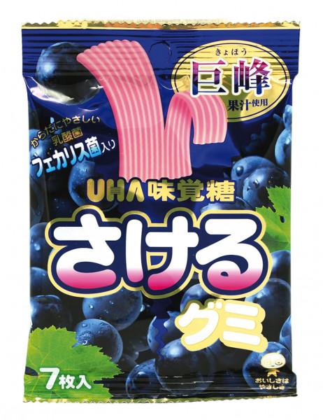 UHA Kaugummi Traube Geschmack, 32,9 g