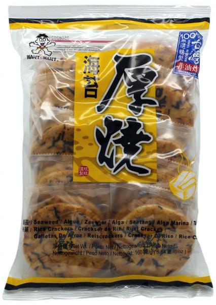 WANT WANT Reiscracker Seetang, 160 g