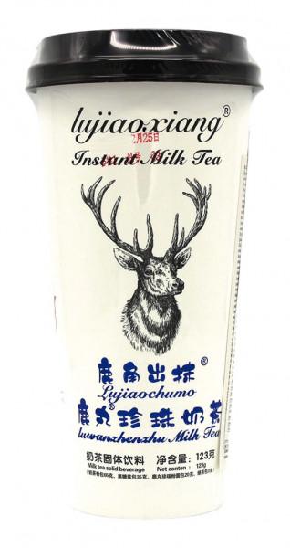 Lujiaoxiang Teegetränk Tapioka Perlmilch Lujiaochumo, 123 g