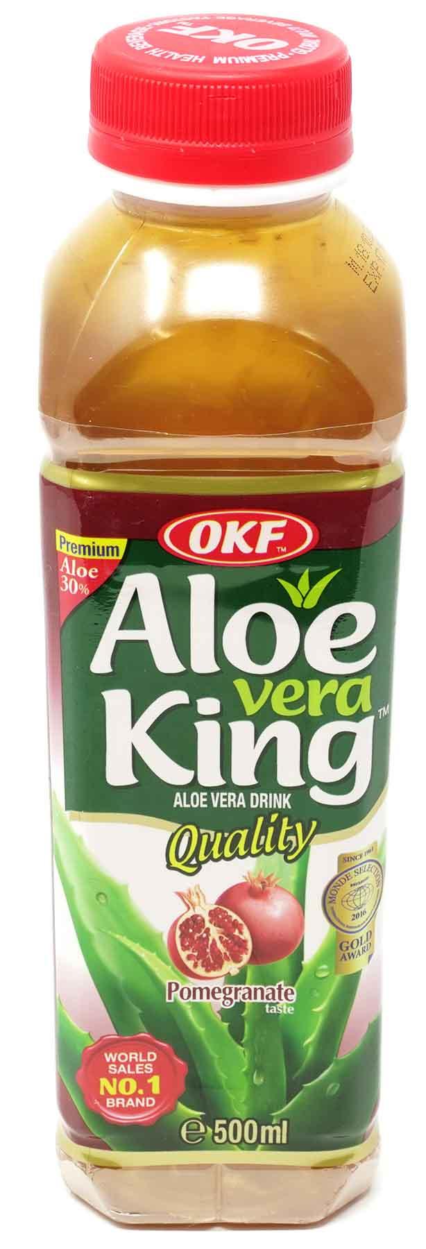 OKF Aloe Vera Getränk Granatapfel, 500 ml