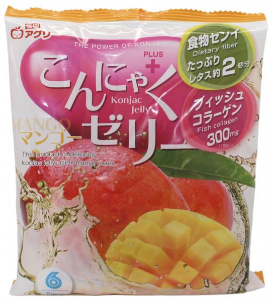 Konjac Gelee Bonbon Mango, 108 g