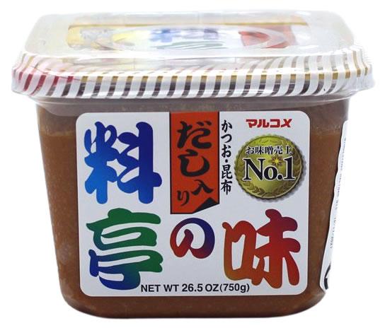 Sojabohnenpaste Ryotei No Aji Cup Dashi, 750 g