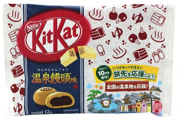 Nestle KitKat Hot Spring Mantou Mini, 12x 9,9 g