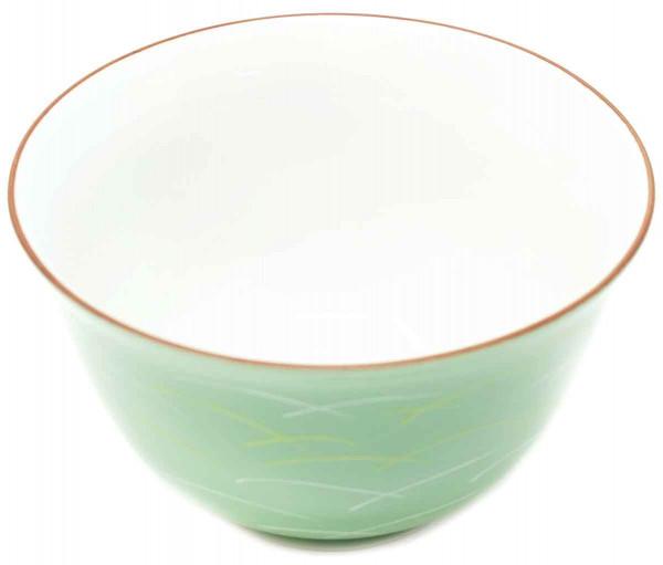 Teeschale grün, 9,5 x 5,5 cm