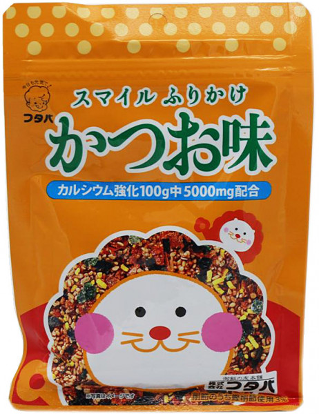 Futaba Katsuo Furikake Reisgewürz mit Bonito und Makrele, 40 g