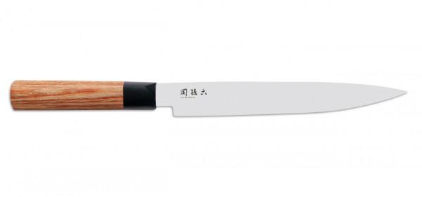 KAI Seki Magoroku Redwood Schinkenmesser, 20 cm