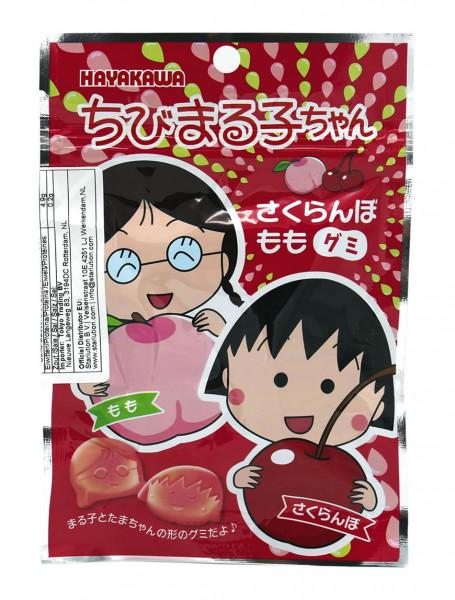 Hayakawa Kirsch-Pfirsich-Gummi, 40 g