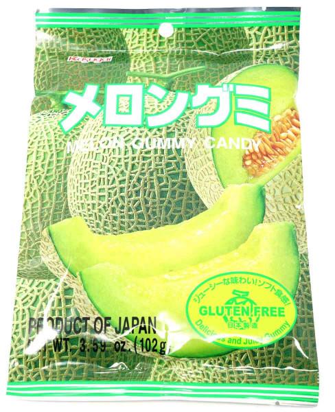 Kasugai Fruchtgummi Melone, 102 g