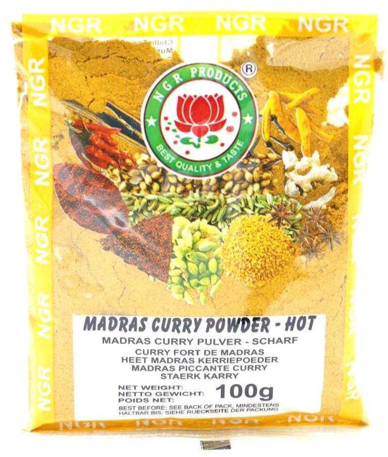 NGR Madras Currypulver scharf, 100 g