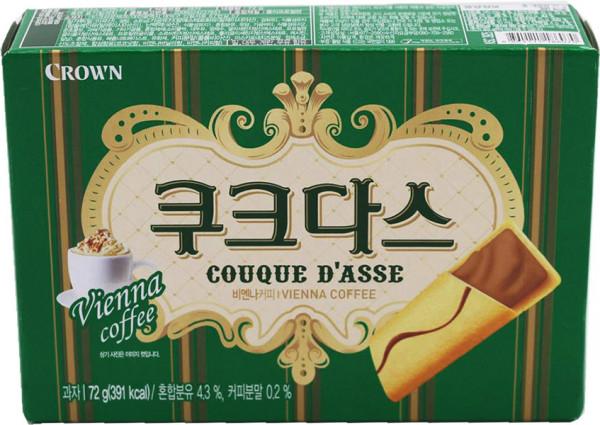 Crown Couque D'asse Vienna Coffee, 72 g