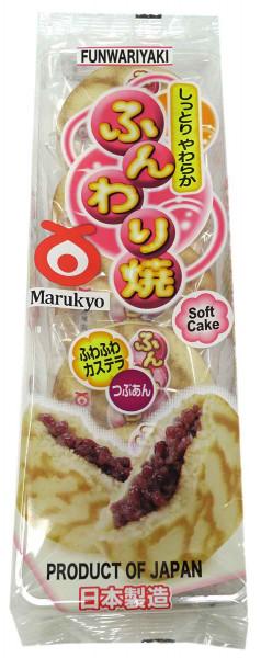 Maryuko Funwariyaki japanische Pfannkuchen mit Adzukibohnenpaste, 280 g