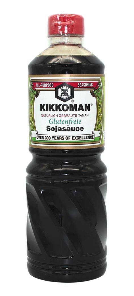 KIKKOMAN Sojasauce glutenfrei, 1 L
