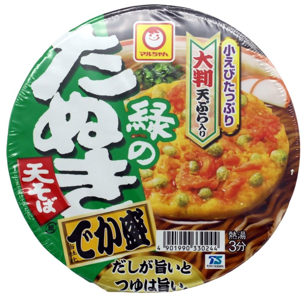 Maruchan Instant Soba Nudeln Midori no Tanuki, 146 g