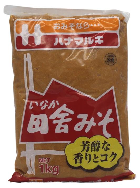 Inaka Miso-Paste aus fermentierten Sojabohnen, 1 kg
