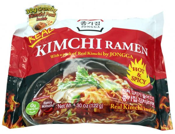 Jongga Kimchi Ramen, 122 g
