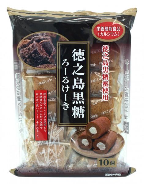 Mini Rollkuchen Schwarzer Zucker, 160 g