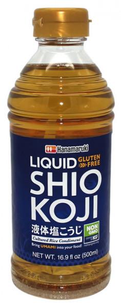Shio Koji Flüssiges Reismalz gesalzen, 500 ml