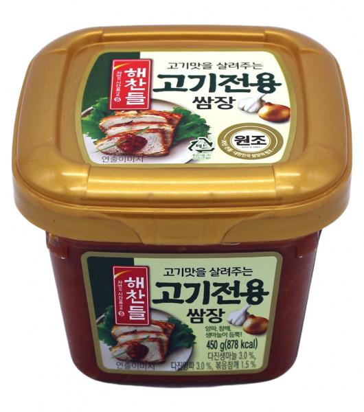 Gewürzte Sojabohnenpaste für gebratenes Fleisch, 450 g
