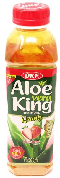 OKF Aloe Vera Getränk Erdbeere, 500 ml
