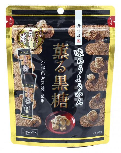 Azukibohnenmus-Gelee mit Kokuto-Rohrzucker, 98 g