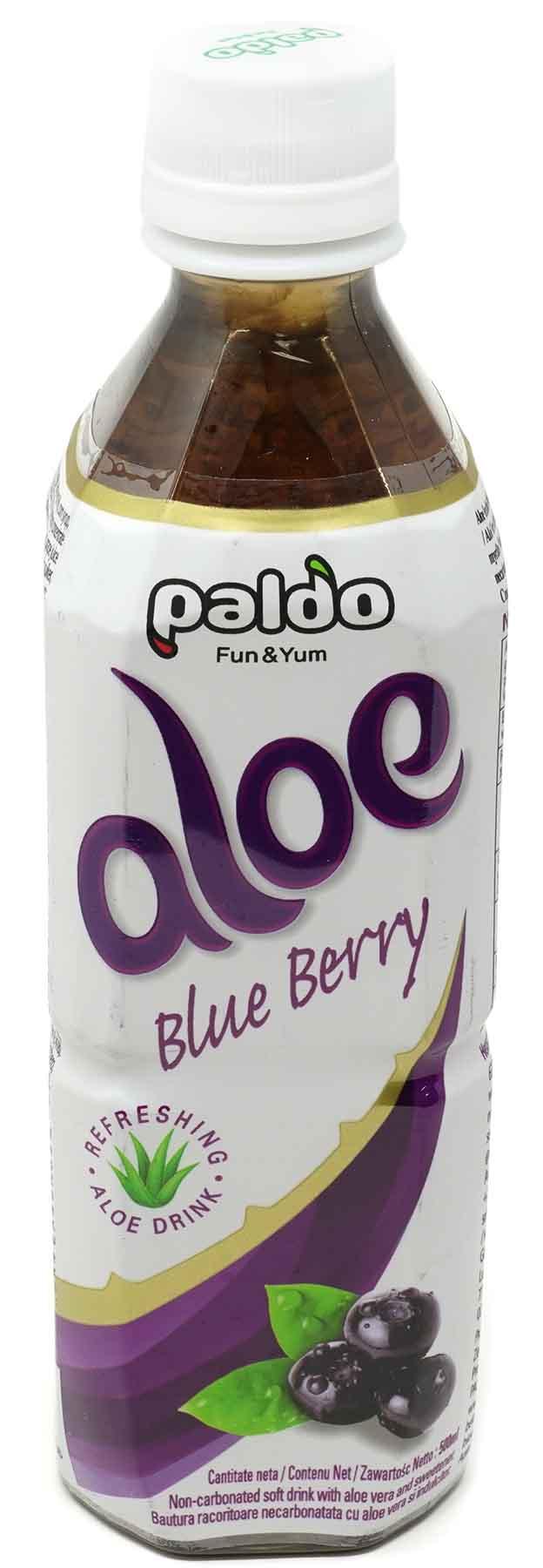 PALDO Aloe Vera Blaubeere, 500 ml