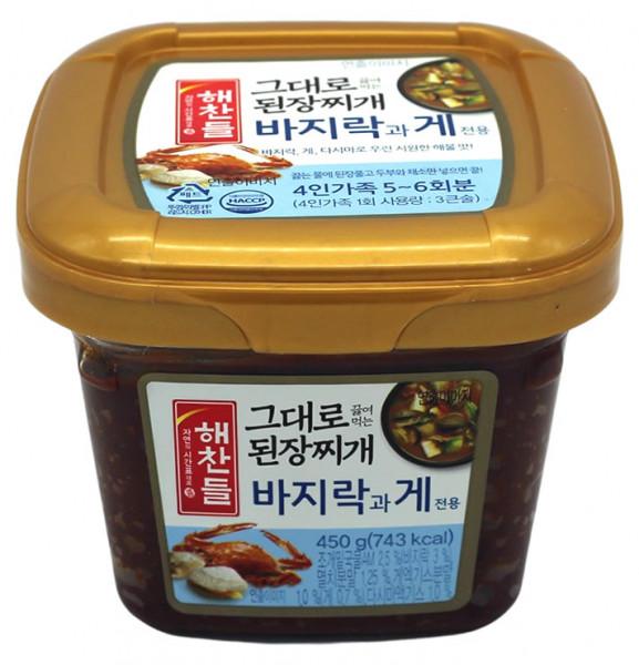 CJ Sojabohnenpaste kochfertig gewürzt, 450 g