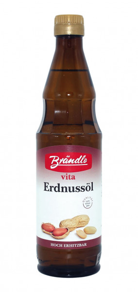 Brändle Vita Erdnussöl, 500 ml