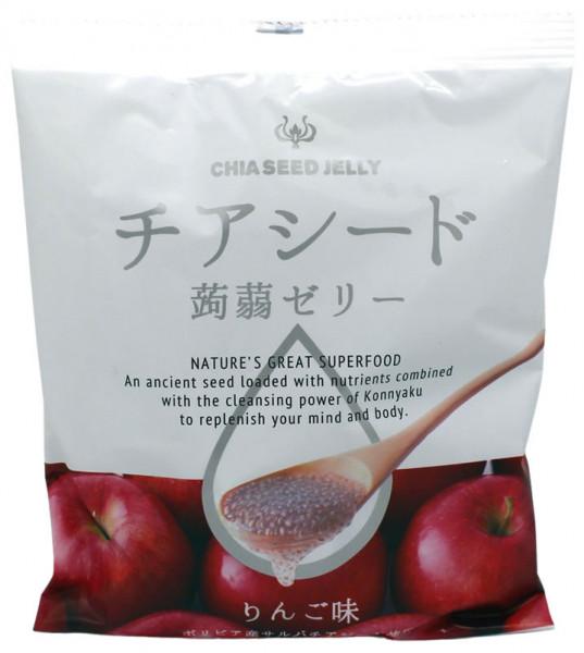 Wakashou Chia-Samen Jelly Apfel, 165 g