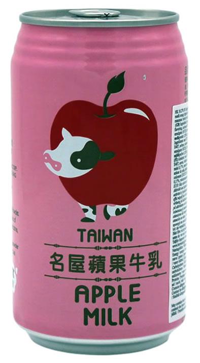 TAIWAN Apfel-Milch-Getränk, 340 ml