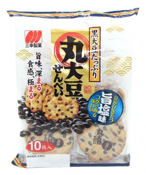 Reiscracker Marudaizu Senbei Umashio, 16 Stück