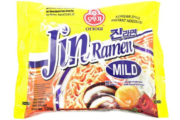OTTOGI Jin Ramen Mild, 120 g