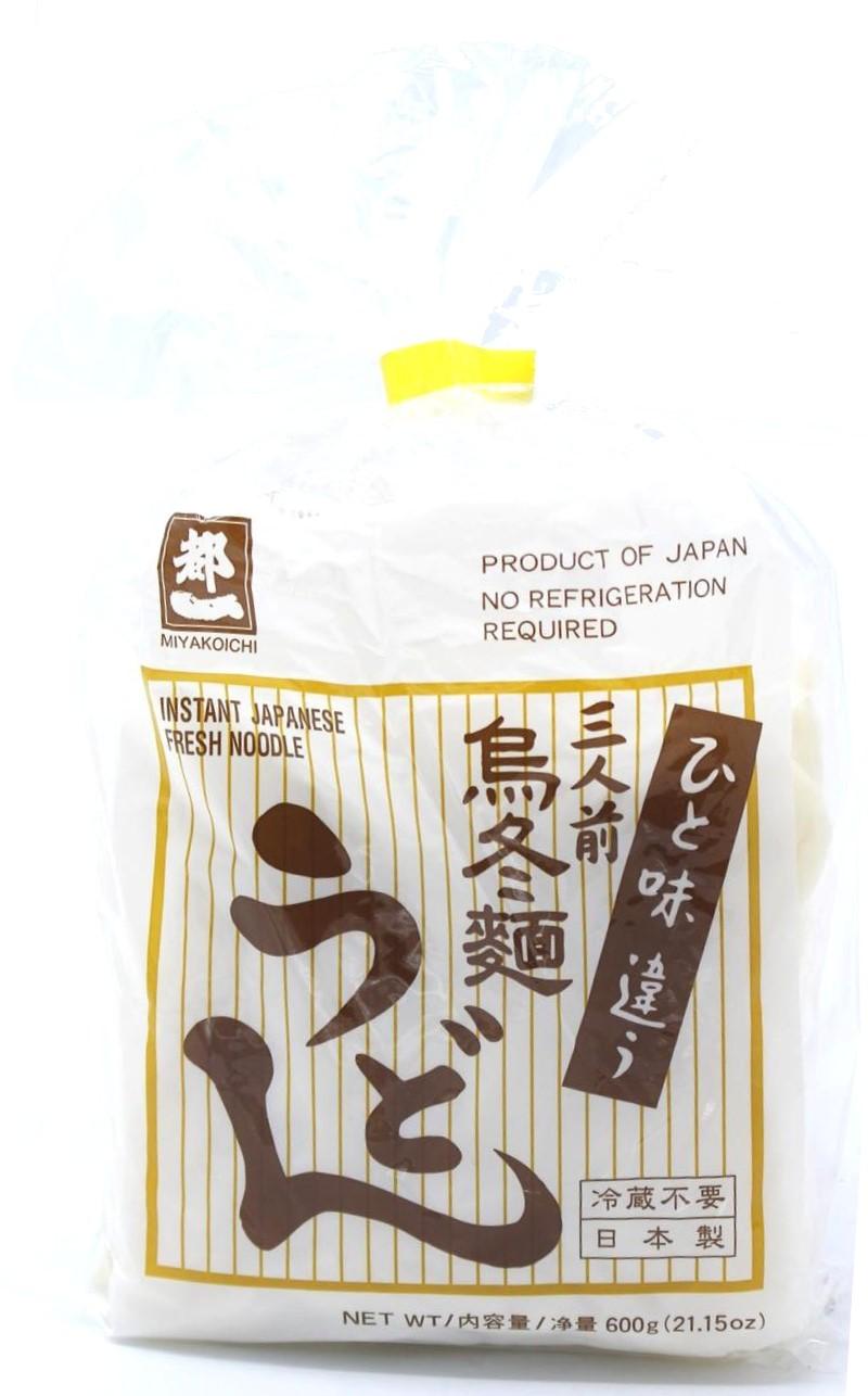 Miyakoichi Udon-Nudeln vorgegart, 3x 200 g