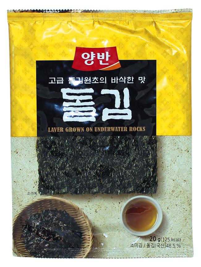 Seetang geröstet und gewürzt, 20 g