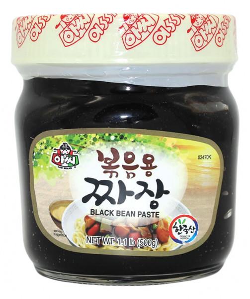 Assi Brand Schwarze Bohnenpaste, 500 g