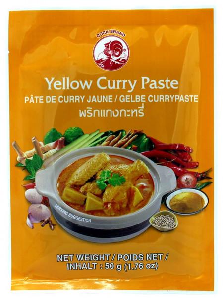 Cock Gelbe Currypaste milde Schärfe, 50 g