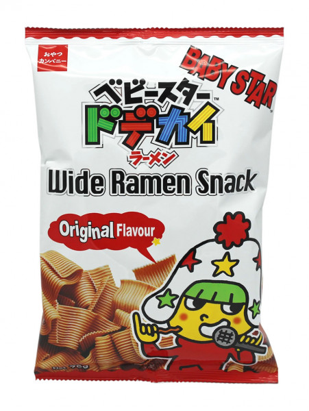Knuspriger Ramen Snack Original Flavour, 75 g