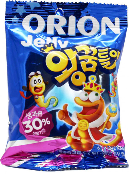 Orion King Jelly Fruchtgummi, 67 g