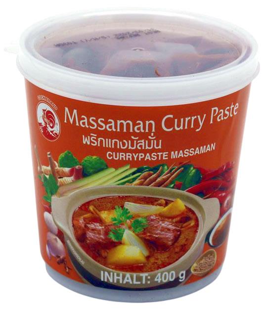 Cock Orange Currypaste Massaman, 400 g