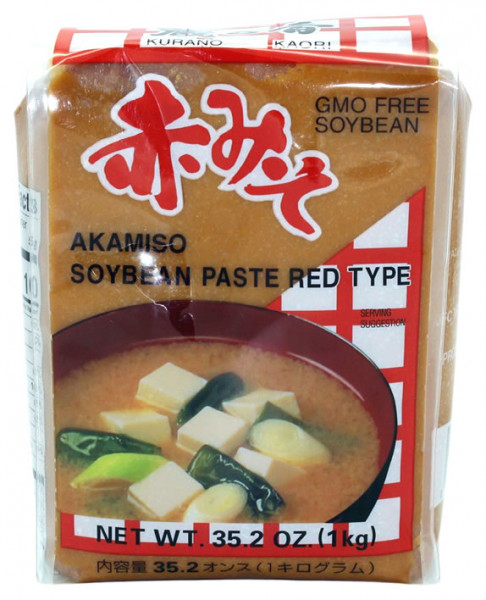 Aka Miso-Paste rot, Kura no Kaori Gusset, 1 kg